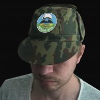 Камуфлированная кепка 5 ОБрСпН г. Марьина Горка