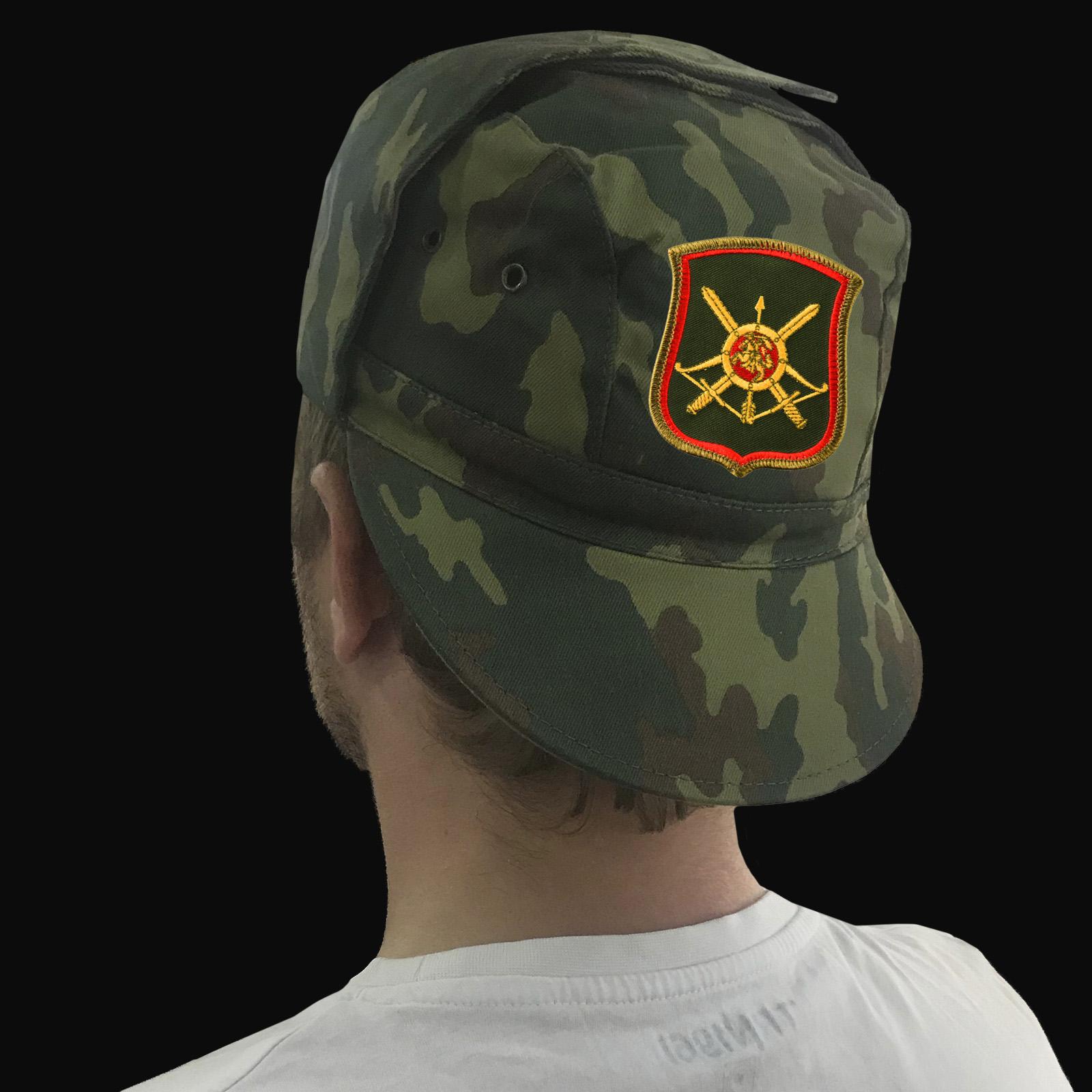 Продажа кепок, бейсболок и других товаров в дизайне ракетных войск