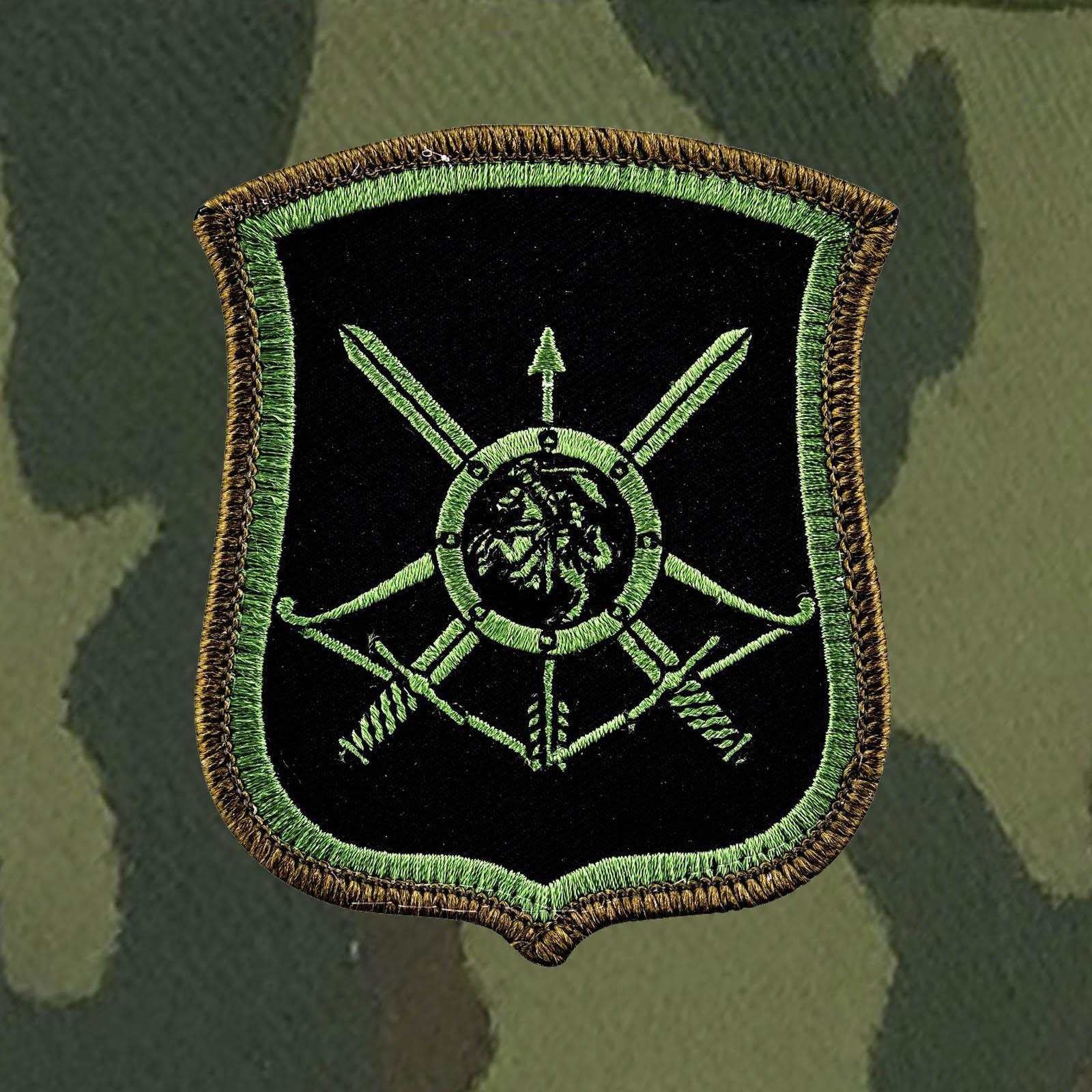 Хлопковая кепка с полевым шевроном 54-й ракетной дивизии РВСН.