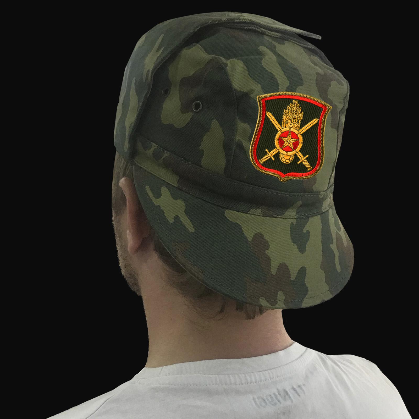 Мужские камуфляжные кепки с символикой Ракетных войск