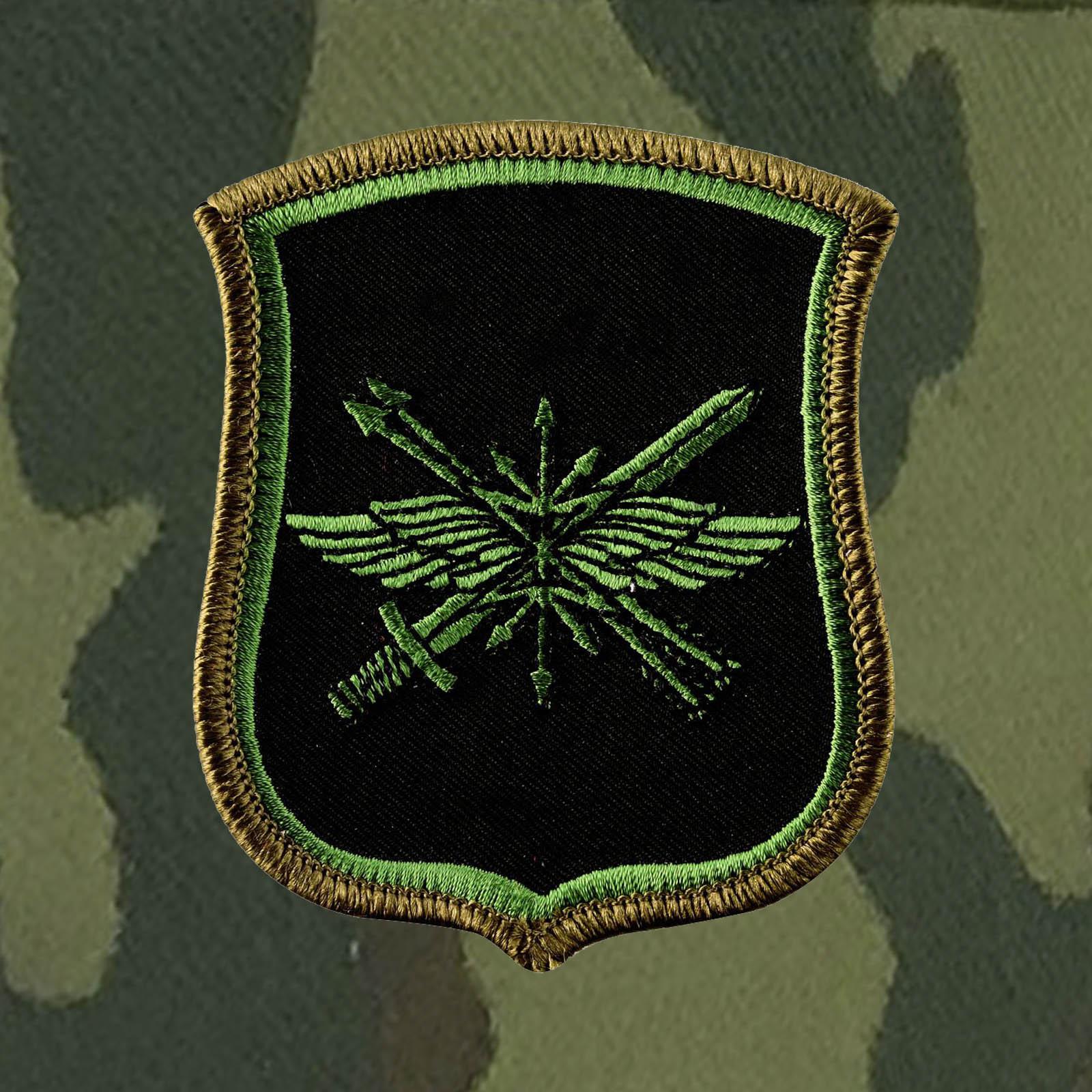 Кепка-камуфляж с шевроном «882-ой Центральный узел связи РВСН».