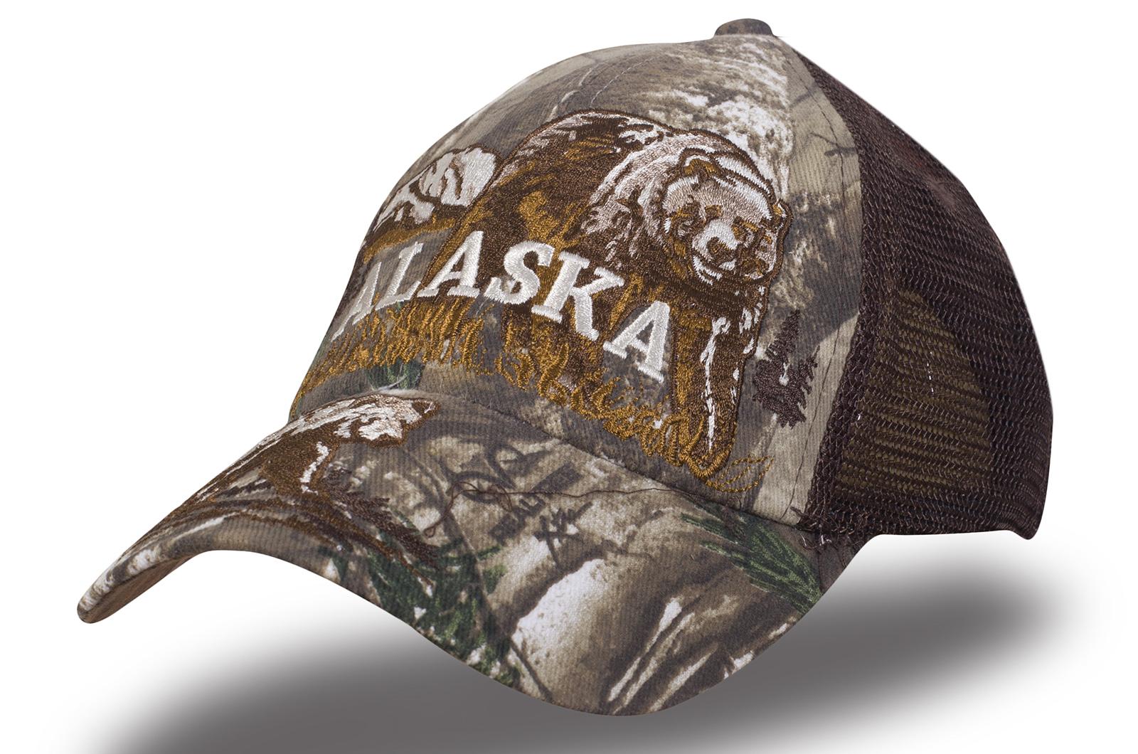 Кепка Аляска сетка камуфляж - купить в интернет-магазине с доставкой