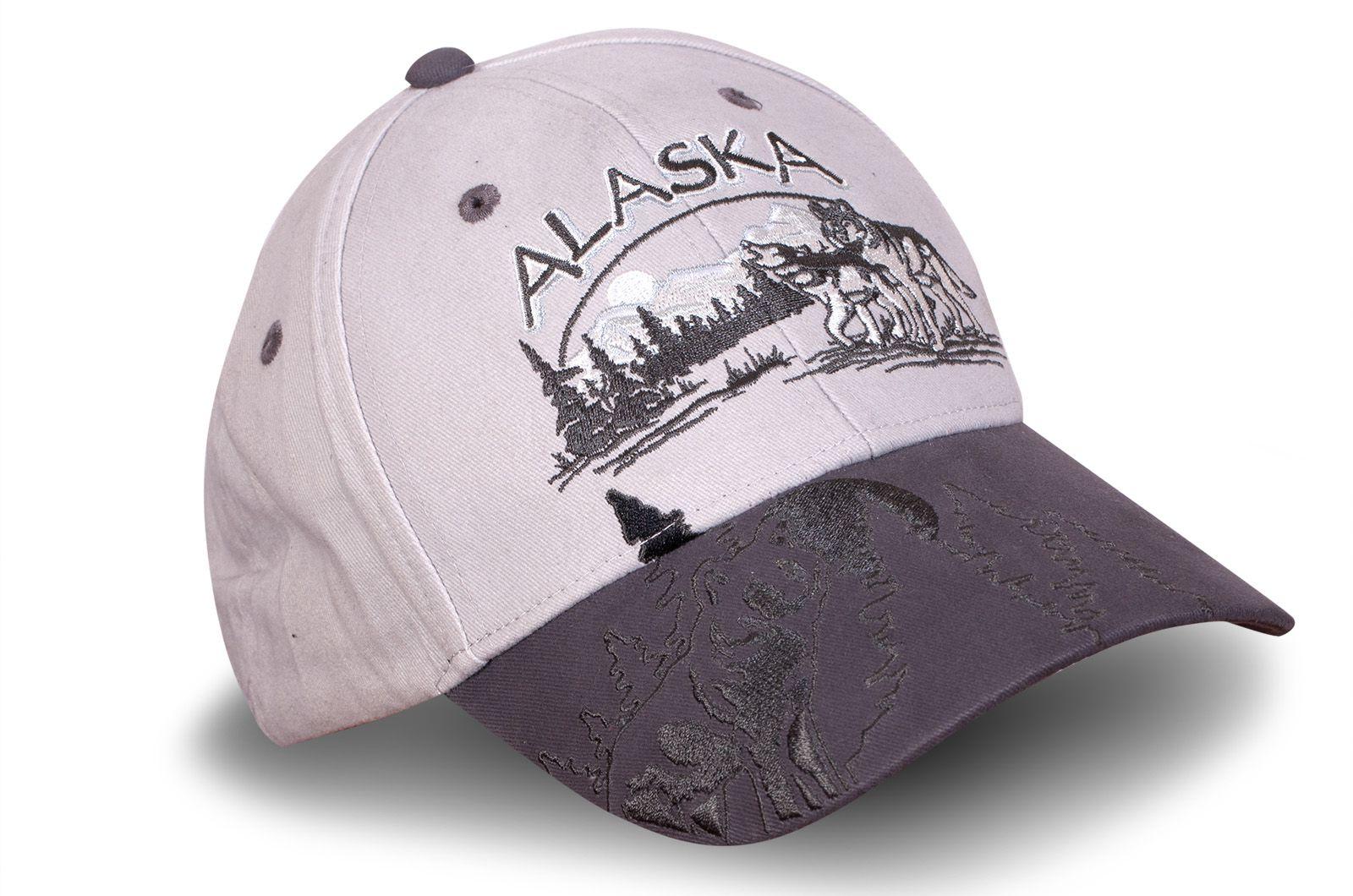 Кепка Аляска вышивкой - купить в интернет-магазине с доставкой