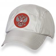 Мужская кепка бейсболка с вышитым Двуглавым орлом.
