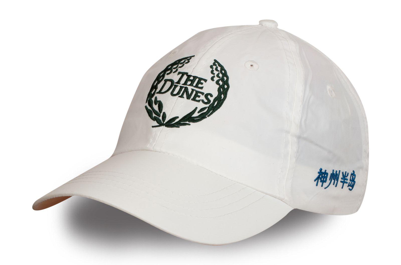 Кепка белая с лого - купить в интернет-магазине с доставкой