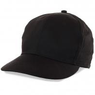 Черная мужская кепка без надписей, логотипов и прочей рекламы. Качественная вещь за смешную по меркам Москвы цену