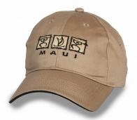 Кепка бежевая MAUI