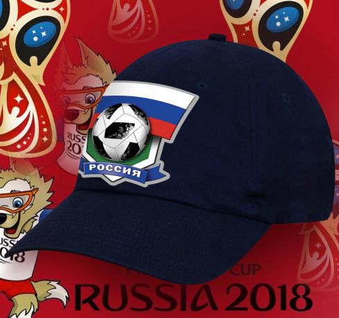 Кепка болельщика Россия.