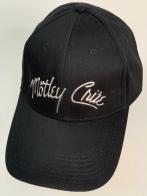 Кепка черного цвета Motley Crue