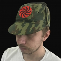 Летняя тактическая кепка с символом Даждьбога.
