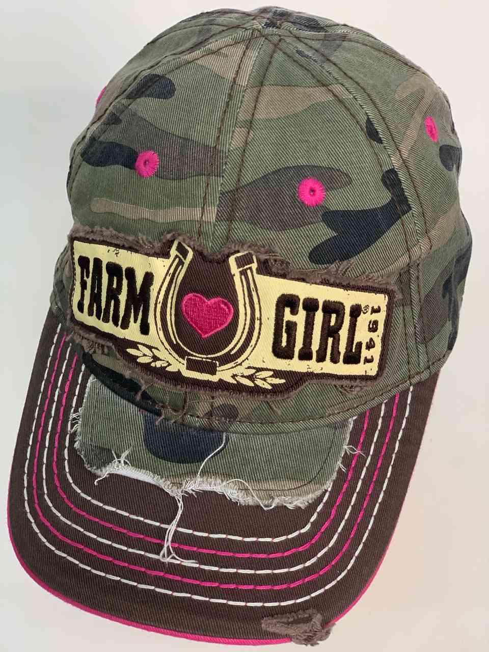 Кепка для весёлых девушек FARM GIRL