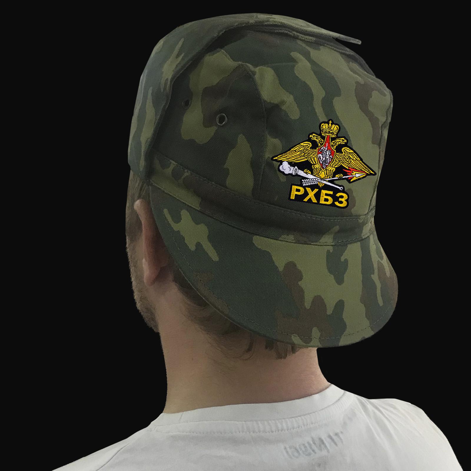 Кепки, бейсболки и другая одежда с символикой Войск радиационной, химической и биологической защиты