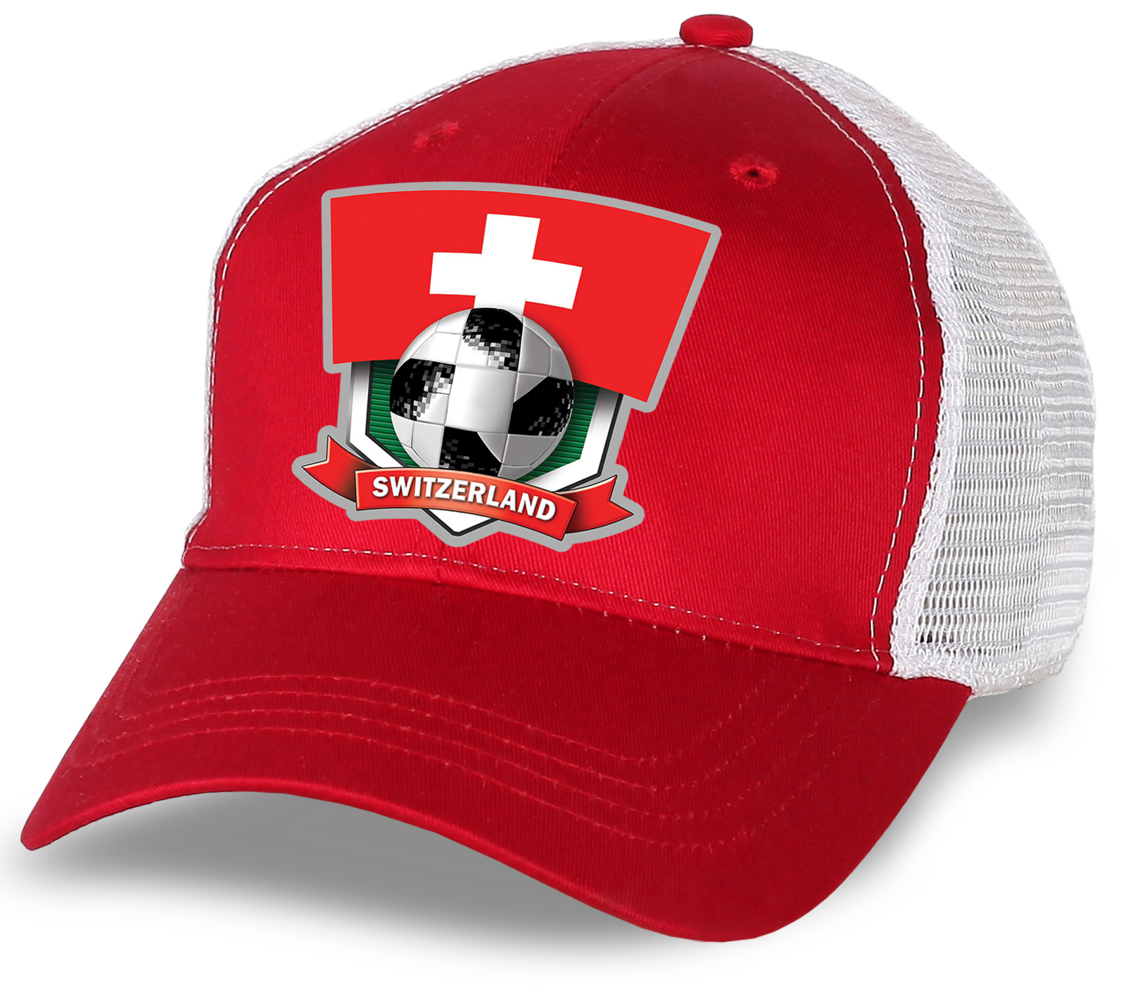Кепка фаната сборной SWITZERLAND.
