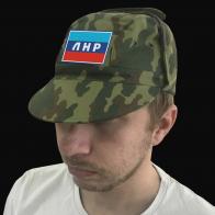 Милитари кепка с флагом ЛНР.