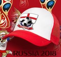 Кепка футбольного фана Английской топ-сборной.
