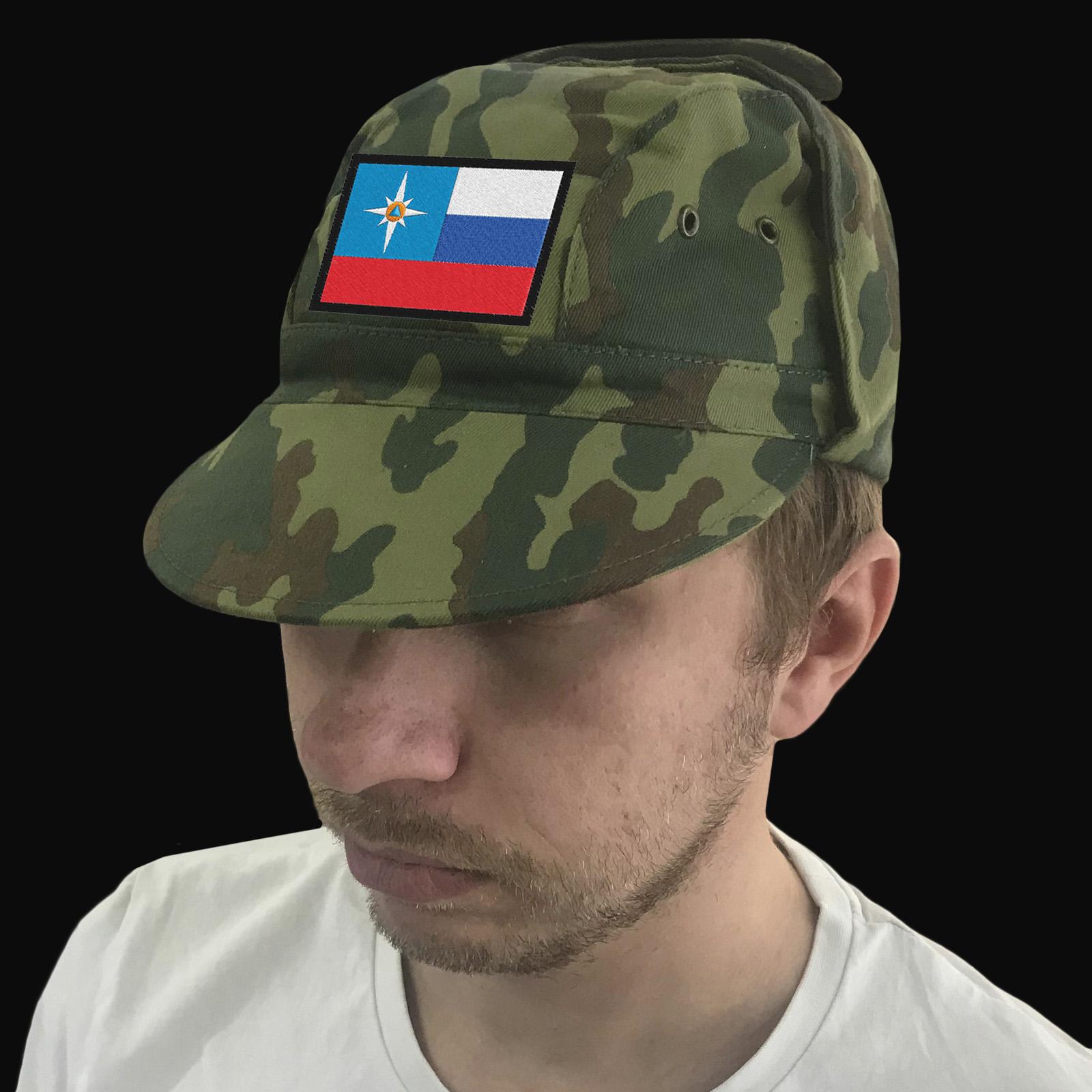 Кепка-хлопок для сотрудников МЧС России.