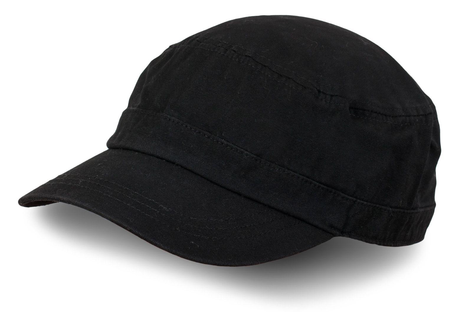 Кепка из черного джинса - купить в интернет-магазине с доставкой