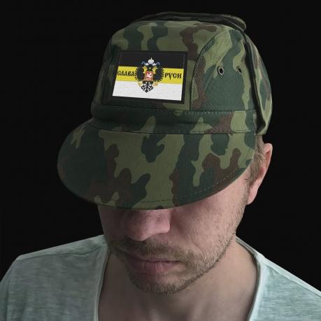 Патриотическая кепка-камуфляж Слава Руси
