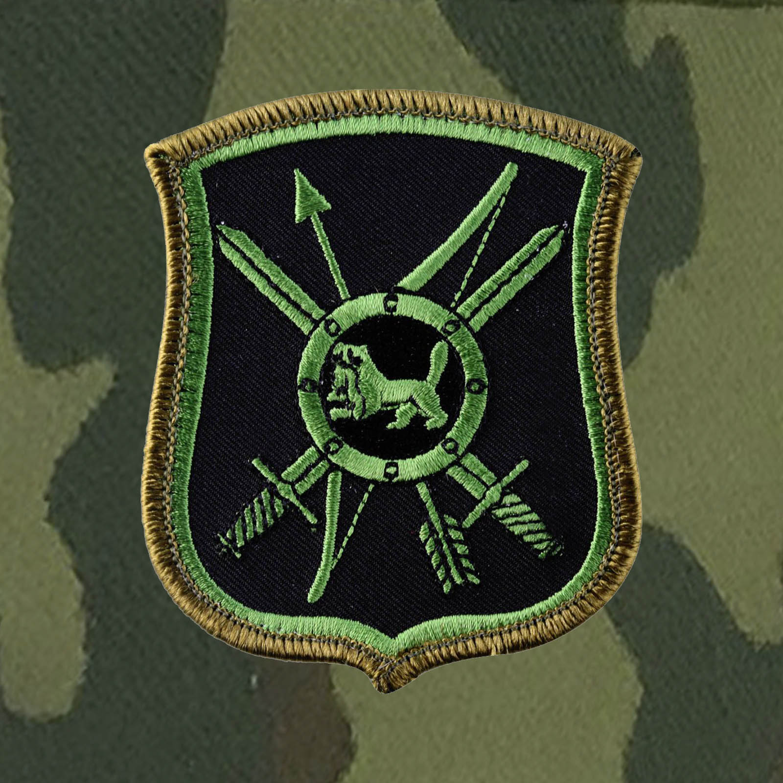 Кепка камуфляж с шевроном 29-ой ракетной дивизии РВСН.
