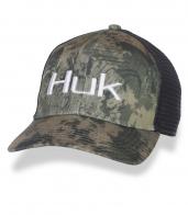 Кепка камуфляж с вышитой надписью HUK.