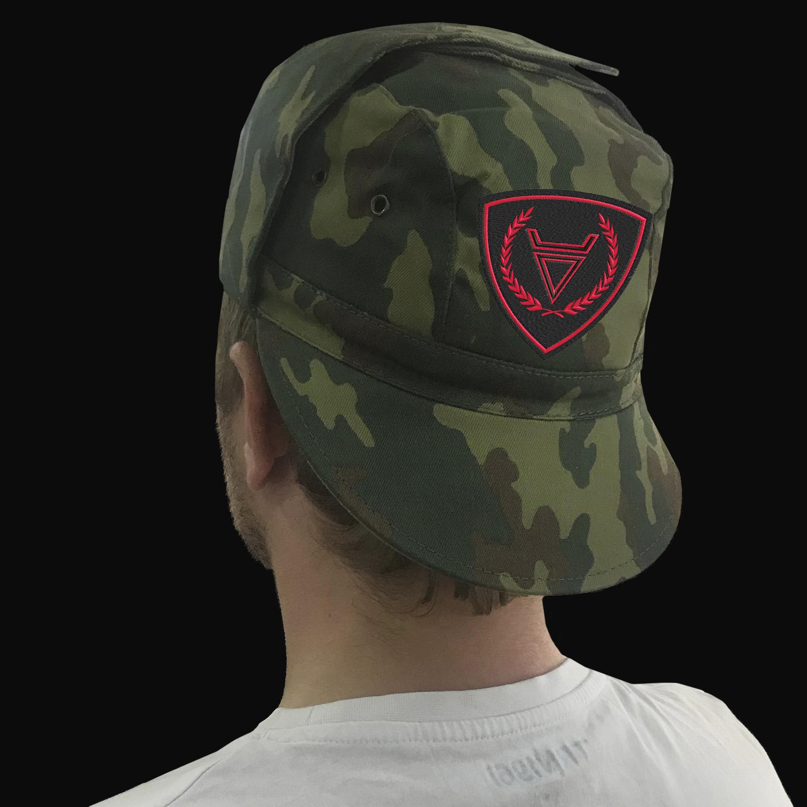 Купить в интернет магазине камуфляжную кепку с вышитой символикой Велеса