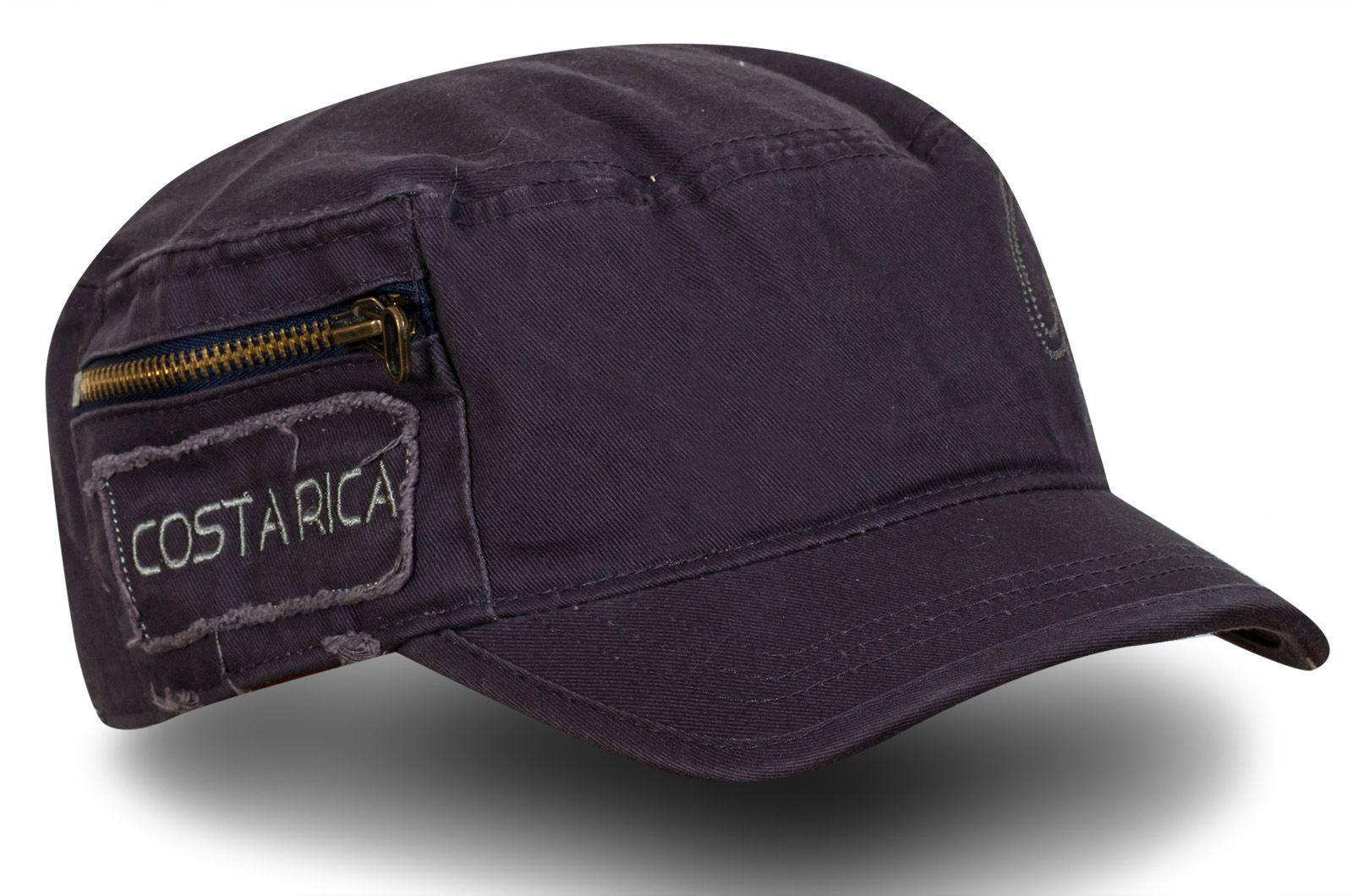 Кепка Коста-Рика с кармашком | Купить мужские кепки с доставкой