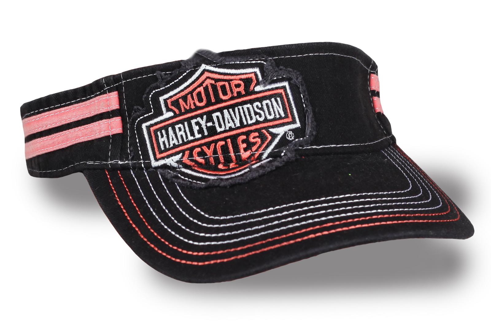 Кепка-козырек байкера Harley-Davidson
