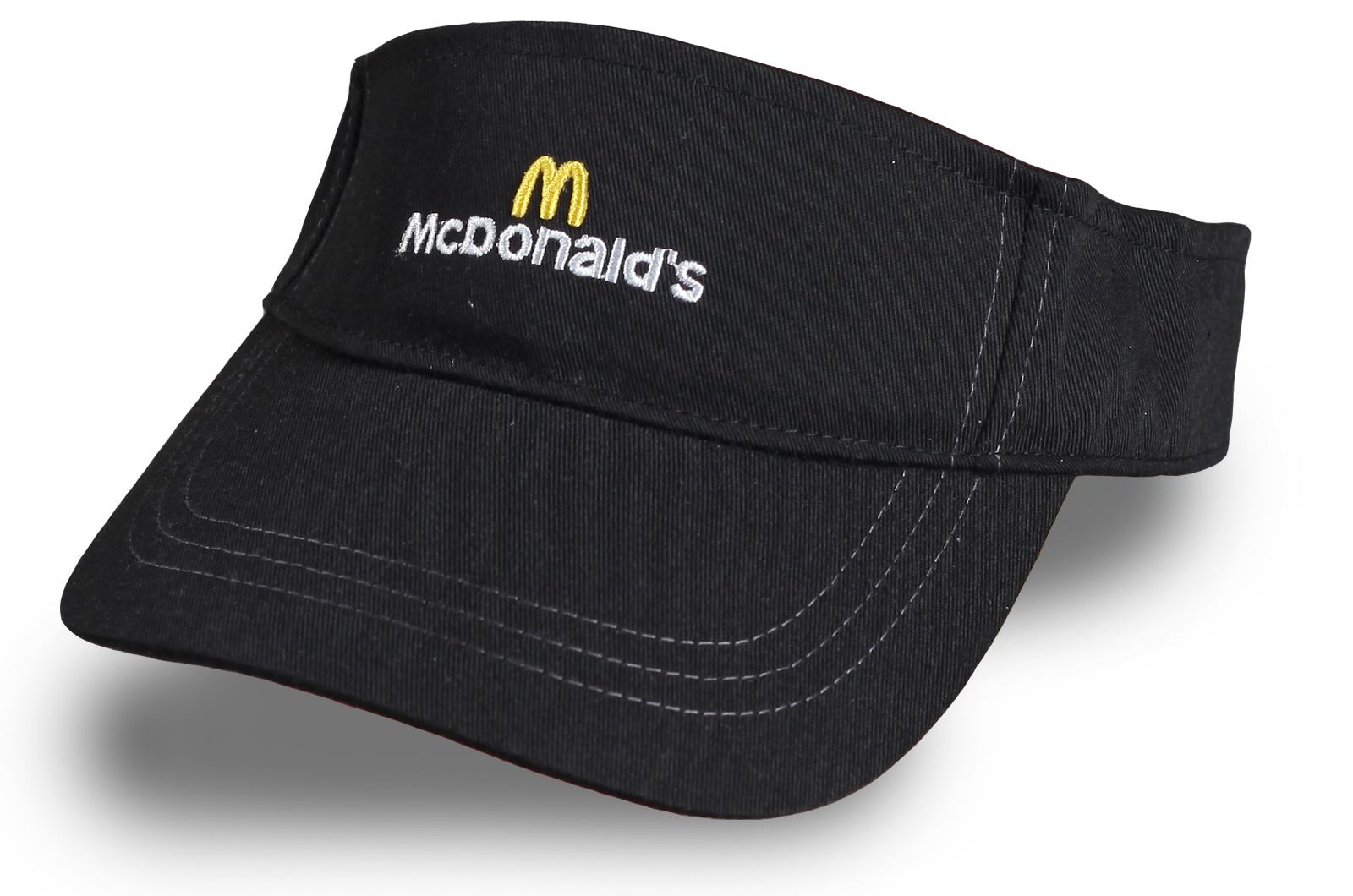 Кепка-козырек Макдональдс - купить по низкой цене