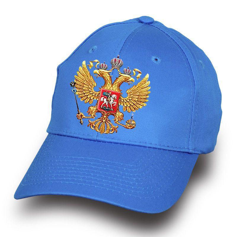 """Кепка курортная """"Герб России"""" - заказать онлайн с доставкой"""