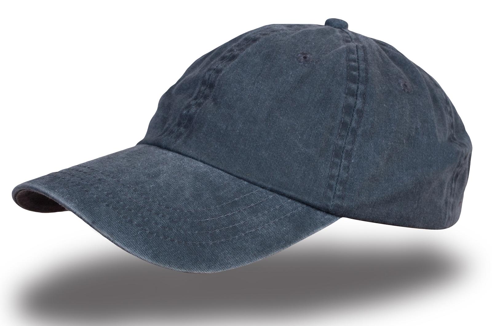 Кепка меланж синяя - купить в интернет-магазине с доставкой