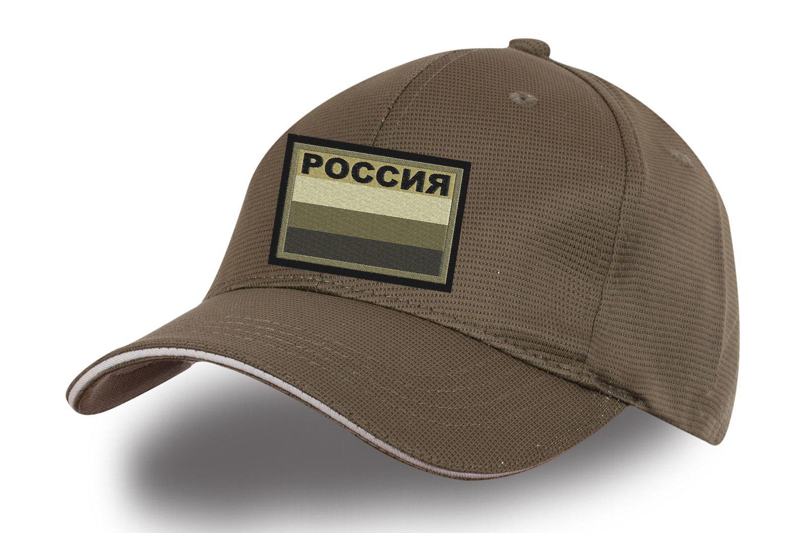 Кепка милитари с нашивкой Россия