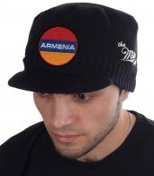 Мужская кепка The Miller Way с флагом Армении. Зимняя классика для любого возраста и типажа. Простая гладкая вязка сочетается и с курткой, и с пальто. Заказывайте! Отправим СРАЗУ!