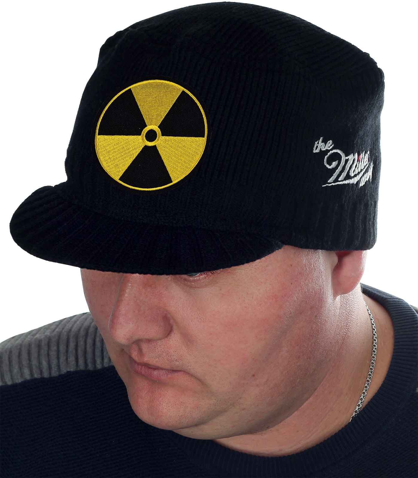 "Мужская вязаная кепка Miller Way в дизайне ""Радиация"""