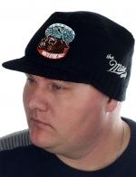 Мужская вязаная кепка Miller Way с символикой и девизом ВДВ