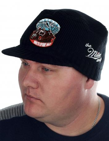 Мужская вязаная кепка Miller Way с символикой и девизом ВДВ. Аксессуар, без которого в холодную погоду никак. Заказывайте для себя, на подарок или для расширения ассортимента магазина