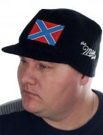 Мужская тёплая кепка Miller Way. Осенне-зимний удобный вариант с символом Новороссии. Фабричное качество и честная цена. Шапка уже в НАЛИЧИИ – заказал, получил!