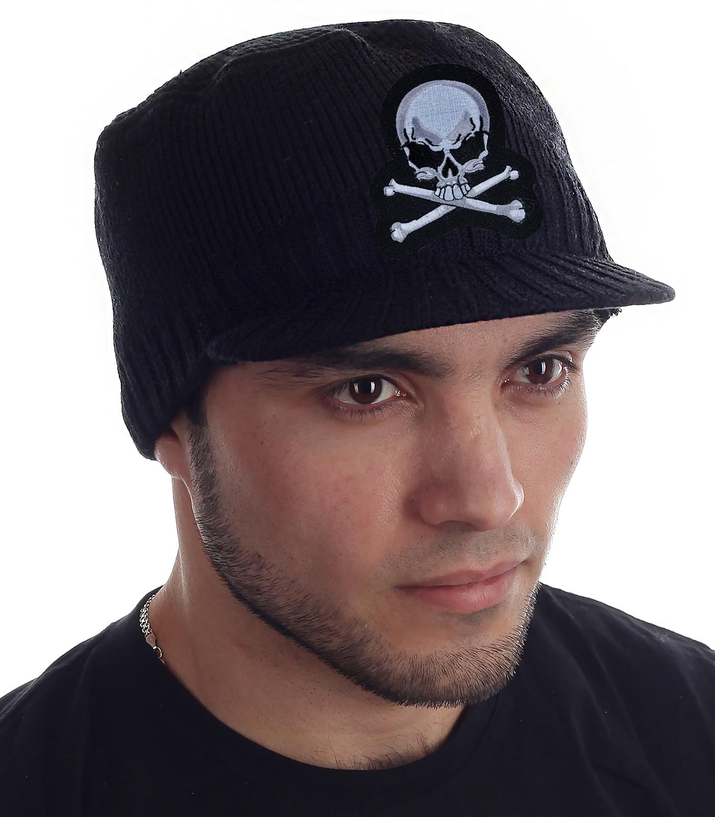 Молодежная шапка кепка для парней. Хватит мерзнуть осенью и студить уши зимой