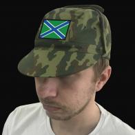 Мужская кепка в дизайне Морчастей погранвойск России.