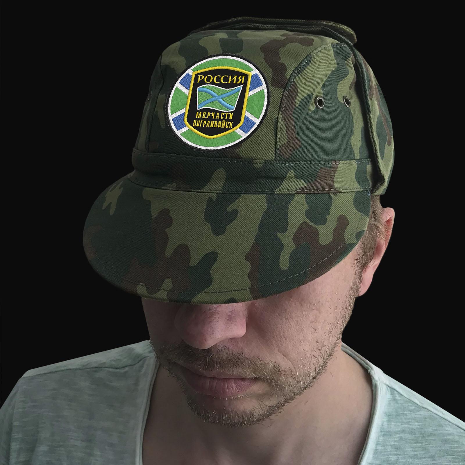Военная кепка Морчасти Погранвойск России
