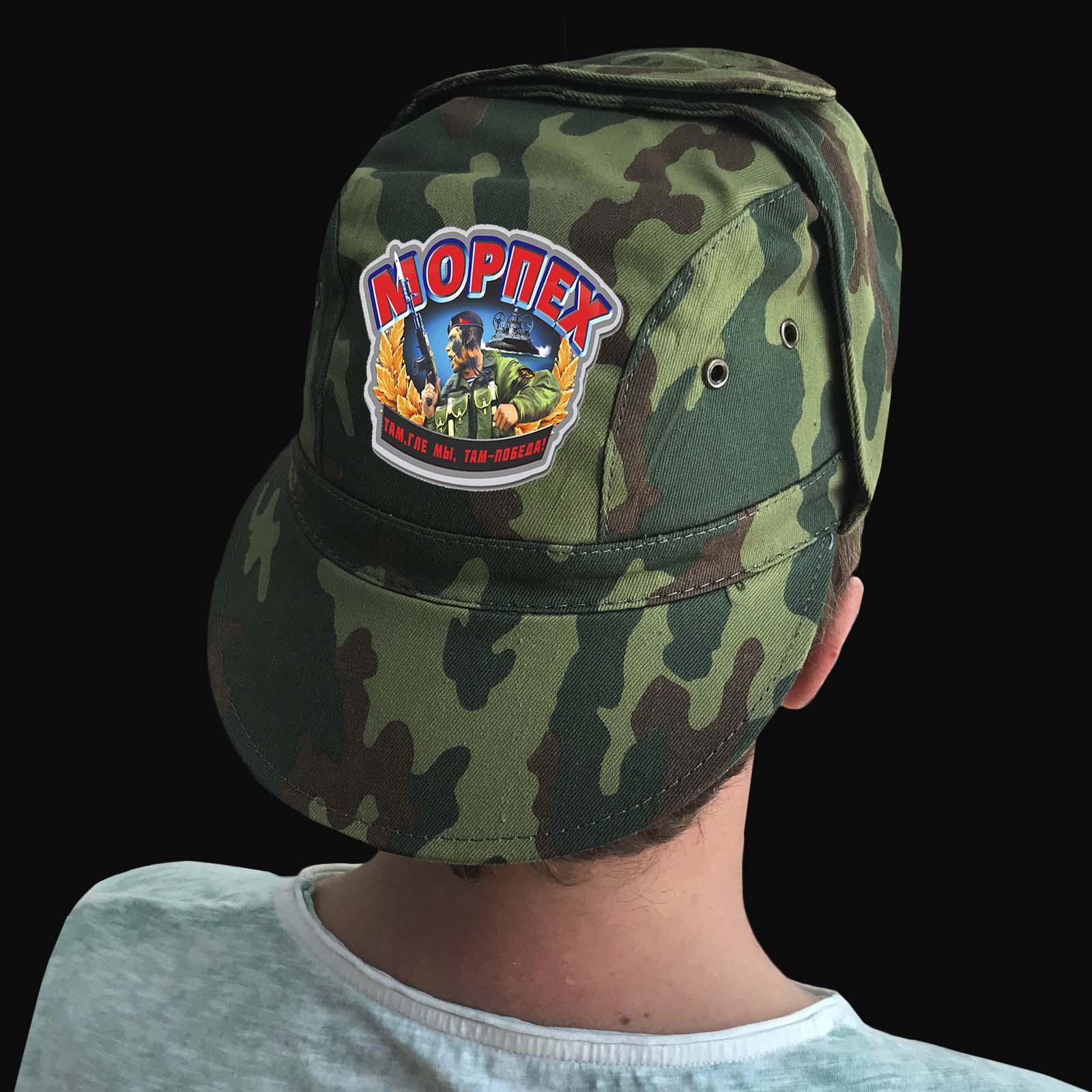Камуфляжные мужские кепки с принтом «Морпех»