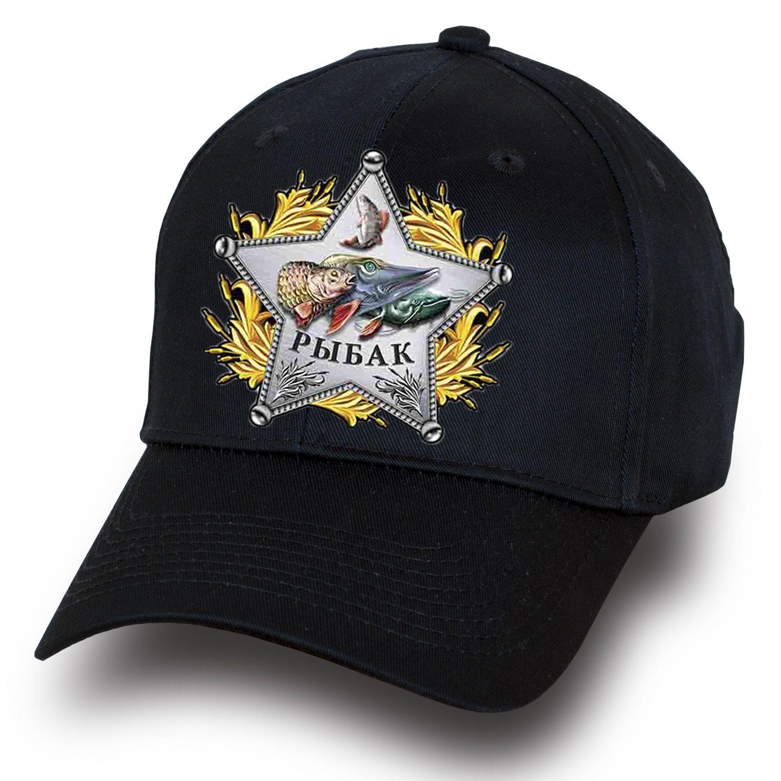 Кепка Настоящего рыбака - заказать онлайн