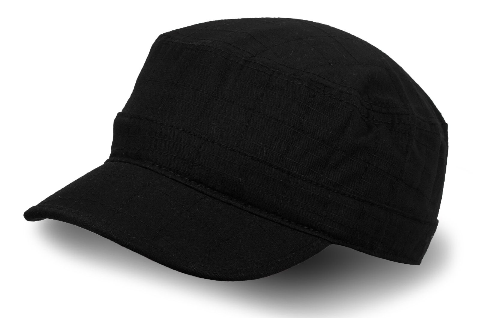 Кепка-немка черного цвета - купить в интернет-магазине