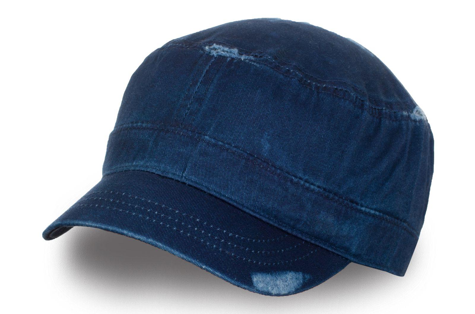 Кепка немка джинсовая - купить с доставкой