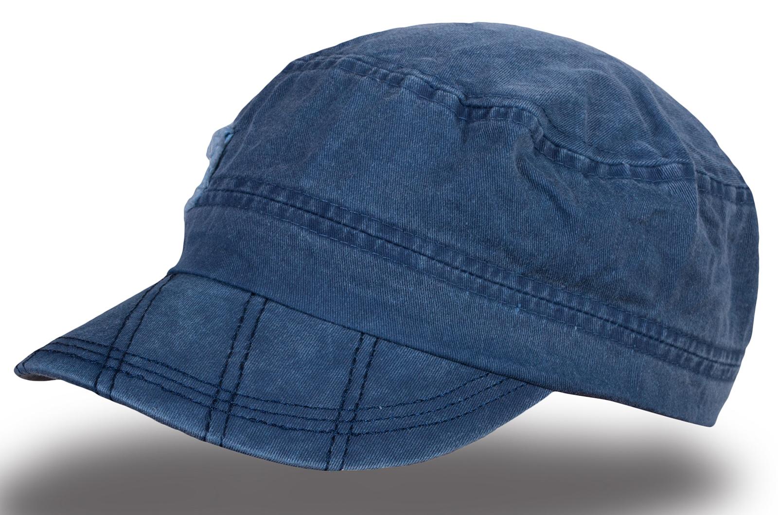 Кепка-немка синяя - купить в интернет-магазине с доставкой