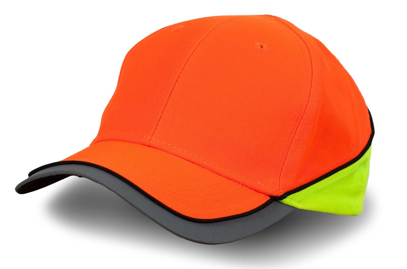 Кепка оранжевая светоотражающая