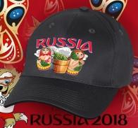 Стильная кепка для патриотов России и болельщиков ЧМ по футболу