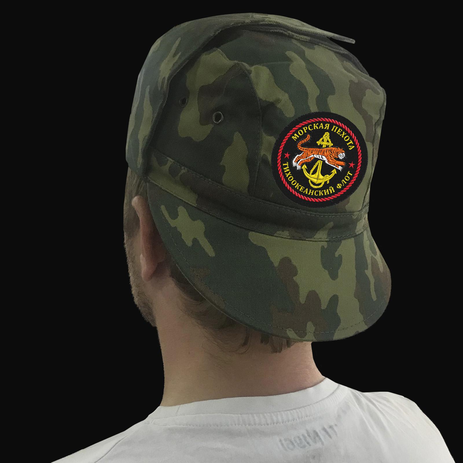 Камуфляжная кепка морского пехотинца ТОФ