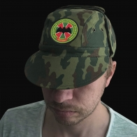Кепка с шевроном «ПОГООН – пограничный отряд особого назначения»