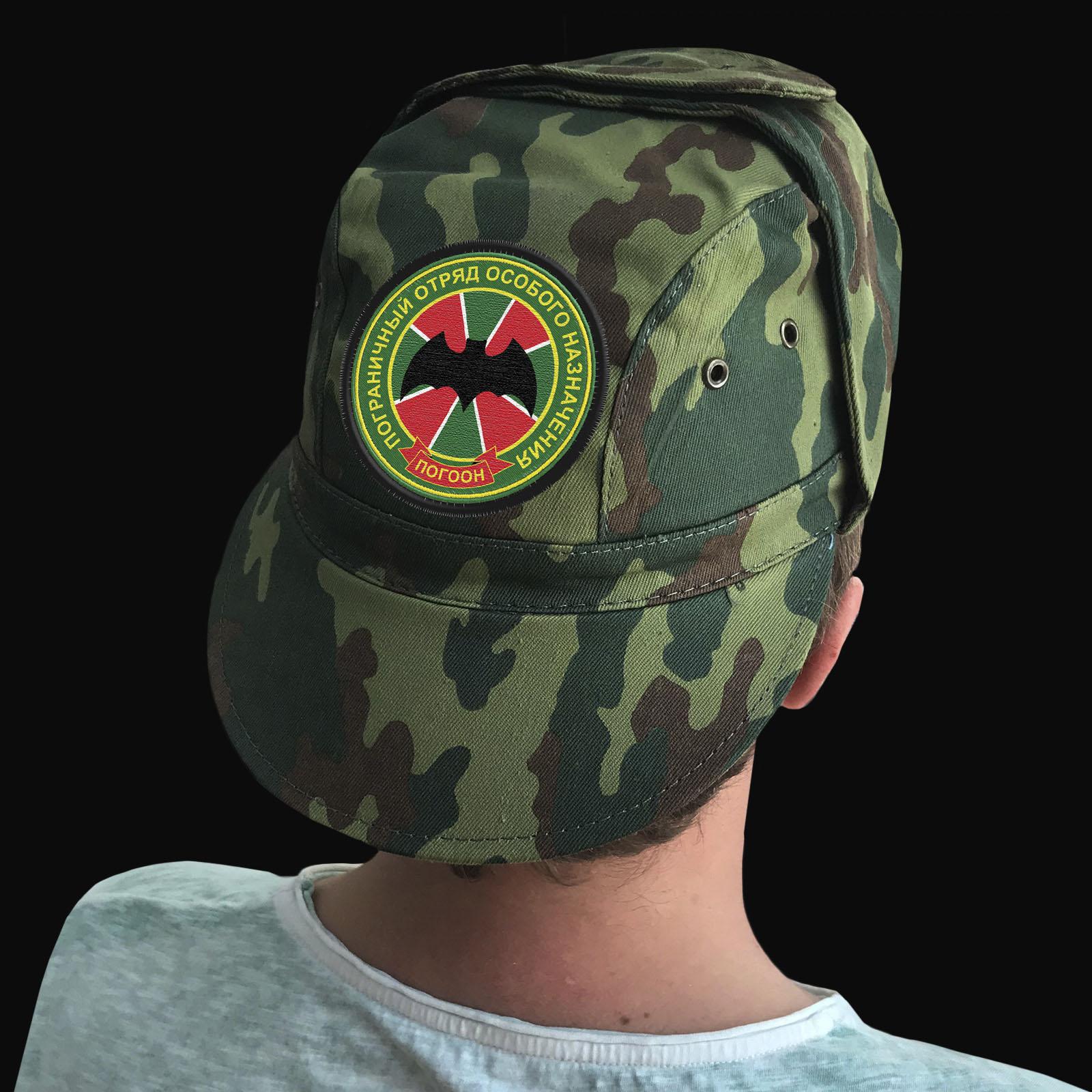 Мужские кепки с символикой ПОГООН