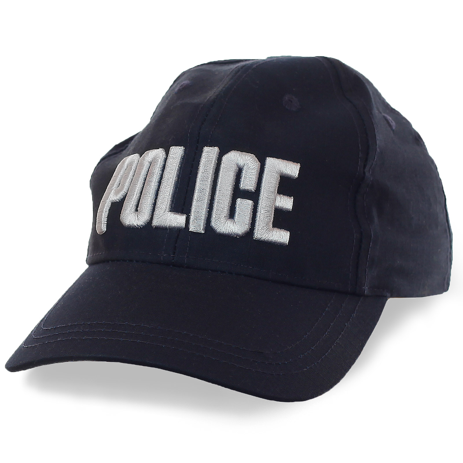 Кепка Полиция с заметными вышитыми буквами и флагом КНР на затылке. Размер регулируется ремешком на липучке. Дешевле некуда!